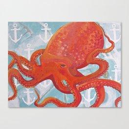 Oscarpus Canvas Print