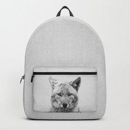 Coyote - Black & White Backpack