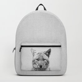 Coyote - Black & White Backpack
