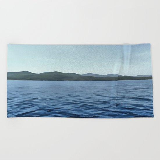 Seafarer Beach Towel