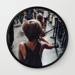 Lost boy II Wall Clock