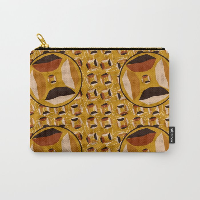 African Eye Carry-All Pouch