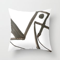 Had of the Eagle Throw Pillow