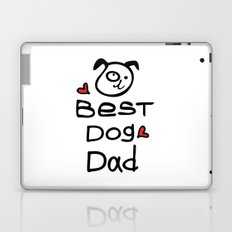 Best dog dad Laptop & iPad Skin
