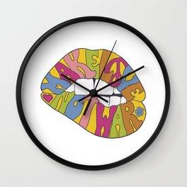 make love... Wall Clock
