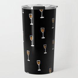 More Champagne Please Travel Mug