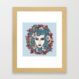 The Gorgon CL. Framed Art Print