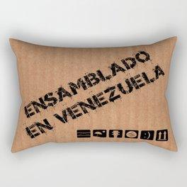 Ensamblado en Venezuela Rectangular Pillow