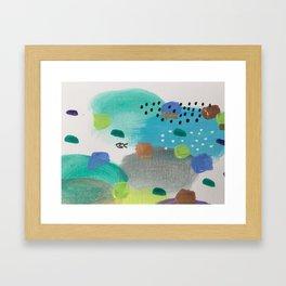 The Beautiful Chaos Framed Art Print