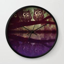 owl-94 Wall Clock