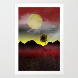 dream of a foreign summer Art Print