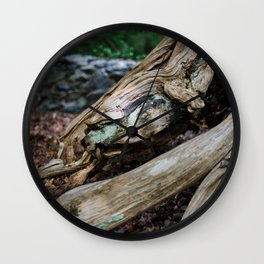Jewel in the Wood Wall Clock