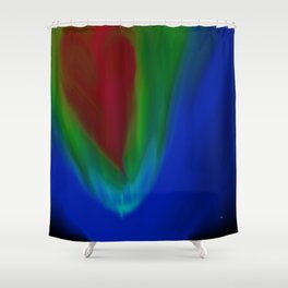 With All My Heart Shower Curtain
