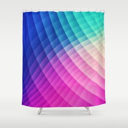 Abstract Colorful Art Pattern (LTBG - Low poly) - Texture aka. Spectrum Bomb! (Photoshop Colorpicker Shower Curtain
