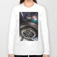 bmw Long Sleeve T-shirts featuring BMW Mini Paceman Wheel by Mauricio Santana