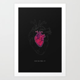 This is your heart Art Print