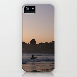 Surfers at Sunset iPhone Case
