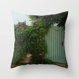 cute house Throw Pillow