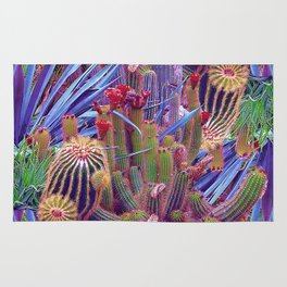 Hazardous spiky plant Rug
