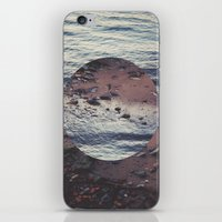 circle iPhone & iPod Skins featuring CIRCLE by Julia Yusupov