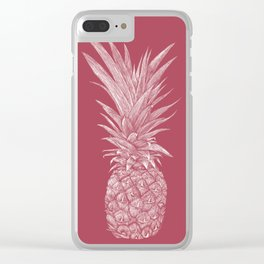 Pineapple : Le Vin Clear iPhone Case