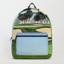 Montauk Dunes State Park Golf Course Backpack
