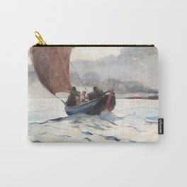 Winslow Homer - Returning Fishing Boats, 1883 Carry-All Pouch