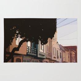 Sunset Houses, San Francisco  Rug