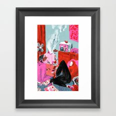 Bums (Lost Time) Framed Art Print