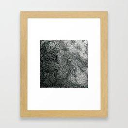 Snowman, art school ed. Framed Art Print