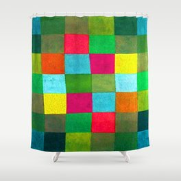Paul Klee New Harmony Shower Curtain