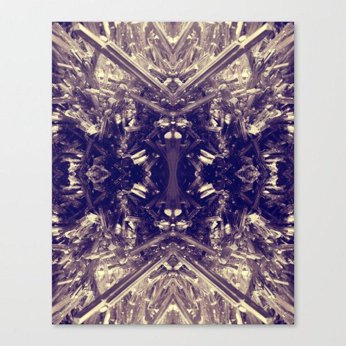 Psychedelic Stibnite  Canvas Print