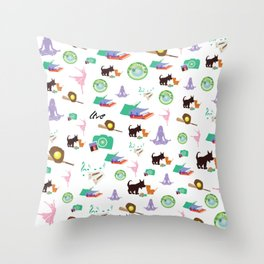 Favs Throw Pillow