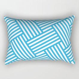 Ziggy - Blue Rectangular Pillow