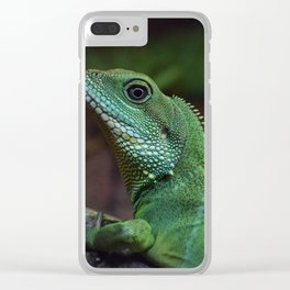 Lizzard Clear iPhone Case