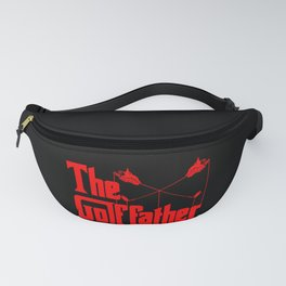 The Golf Father - Funny Golfer product Gift for Dad Fanny Pack
