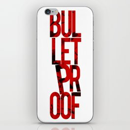 Bulletproof Light & Apparel iPhone Skin