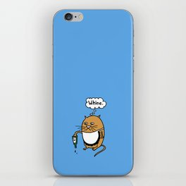 Frank the Cat: Whine iPhone Skin