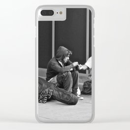 Give Me Your Poor & Tired (Pt 11 - NYC) Clear iPhone Case