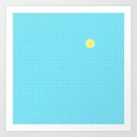 Sunbath Art Print