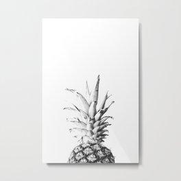 Pineapple 01 Metal Print