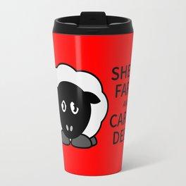 Sheep Keep Calm Travel Mug