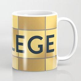 COLLEGE   Subway Station Coffee Mug