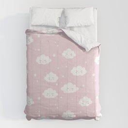 Kawaii cloud pattern Comforters