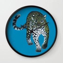 Leopardo the Leopard Wall Clock