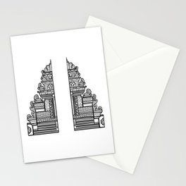 Bali Gate to Paradise Stationery Cards