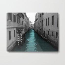 Venecian River Metal Print