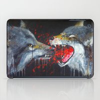 wolves iPad Cases featuring Wolves by Yanin Ruibal