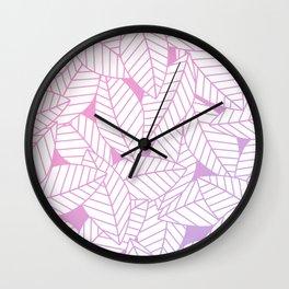 Leaves in Unicorn Wall Clock