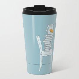 To Swim with a Fish Travel Mug